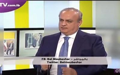 """وهاب لقناة الـ """"أو.تي.في"""": """"حزب الله"""" ردّه مدروس وأخذ بعين الإعتبار صالح البلاد"""