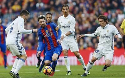 البطولات الأوروبــيـّـة فــي كـــرة الـقدم : بـرشـلونـة مـن دون ميسـي يـُلـقّن ريال مدريد درســاً (5 ــ 1)