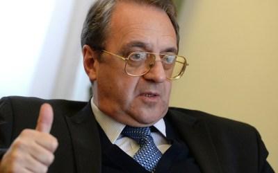 بوغدانوف عزى بوفاة وليد المعلم: فقدنا شريكا موثوقا وصديقا مخلصا