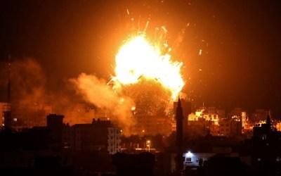 وزارة الصحة في قطاع غزة: استشهاد فلسطيني سادس في غارة اسرائيلية على شرق مدينة غزة