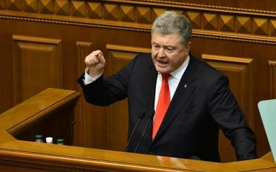رئيس أوكرانيا طلب من الحلف الأطلسي نشر سفن في بحر ازوف