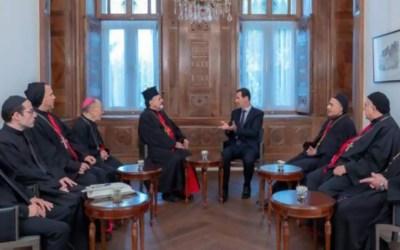 الأسد: السوريون لديهم العزيمة لإنهاء الحرب وإعادة بناء بلدهم