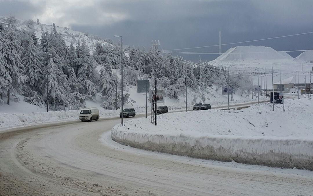 آذار يتنتهي بمنخفض جديد… أمطار وثلوج!