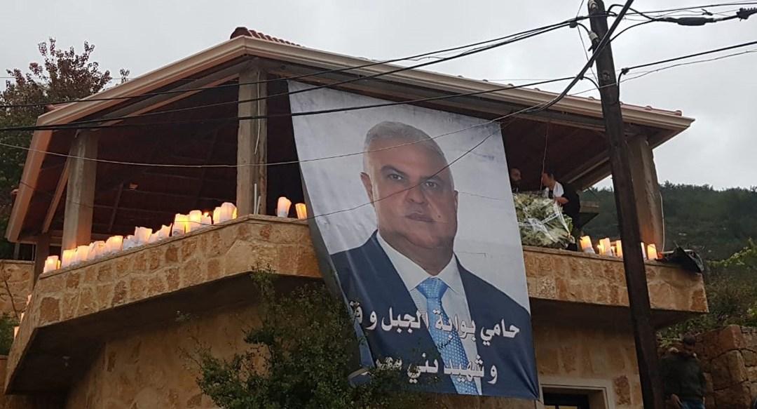مفوضية الجاهلية في حزب التوحيد العربي أضاءت الشموع بمناسبة مرور أسبوع على استشهاد البطل محمد أبوذياب