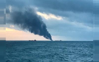 """رويترز: انفجار في ناقلة النفط العملاقة """"نيو دايموند"""" قبالة كولومبو"""