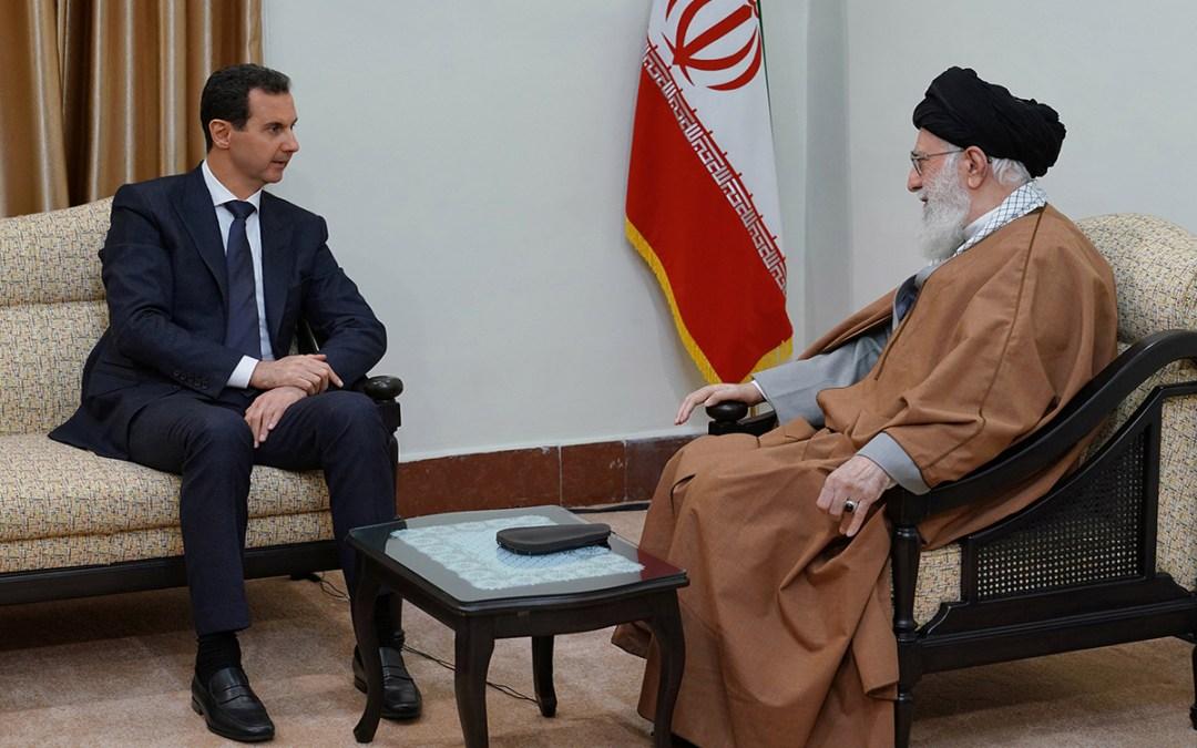 بشار الأسد يزور طهران ويلتقي خامنئي وروحاني