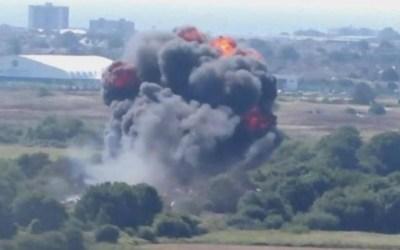 سلسلة انفجارات بمستودع ذخيرة في تركيا قرب الحدود السورية