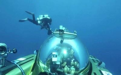 أول بث مباشر من أعماق المحيط