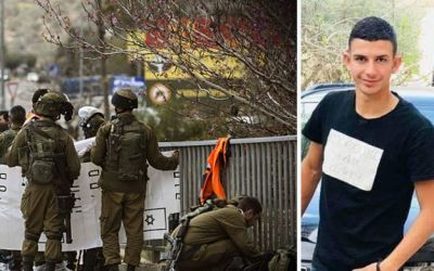 قوات الاحتلال تفجر منزل الفلسطيني الشهيد عمر أبو ليلى غرب سلفيت