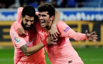 برشلونة يقترب من حسم الليغا