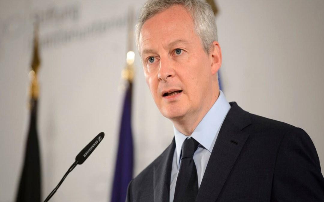 وزير الاقتصاد الفرنسي تعهد برد قوي بعد تلويح واشنطن برسوم جمركية