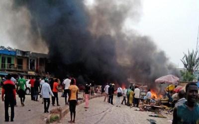 إرتفاع حصيلة ضحايا الهجوم الانتحاري في نيجيريا إلى 30 قتيلا