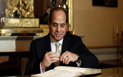السيسي يصادق على اتفاق غاز مع قبرص