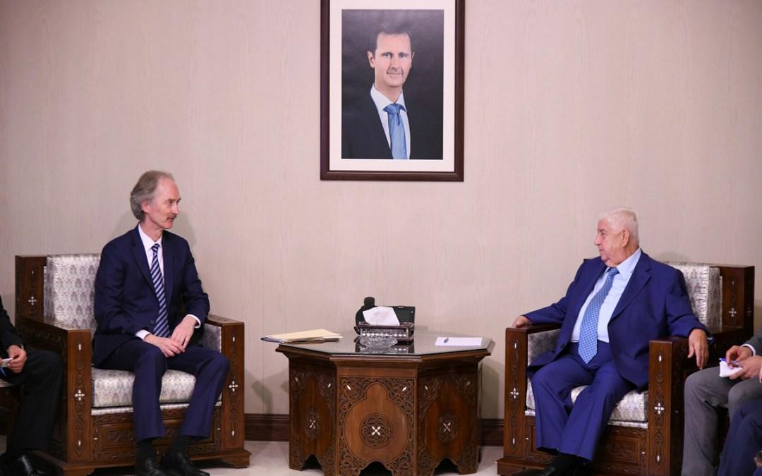 دمشق تعلن أسماء ممثليها في اللجنة الدستورية