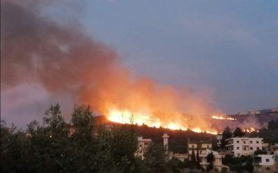 """""""كارثة ما بعدها كارثة"""" في الشوف… والحرائق تحاصر المنازل!"""