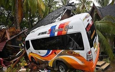 مقتل نحو 24 شخصا في تدهور حافلة في اندونيسيا