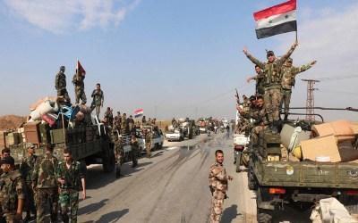 الجيش السوري يطهر قرى جوباس ومرديخ ومعردبسة بريف إدلب الجنوبي الشرقي