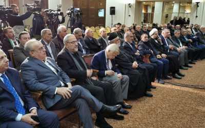 وهاب: لا خيار في مواجهة صفقة القرن إلا المقاومة والتحرير