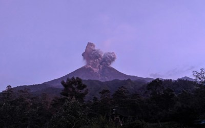 إغلاق مطار في إندونيسيا بعد ثوران بركان على جزيرة جاوة