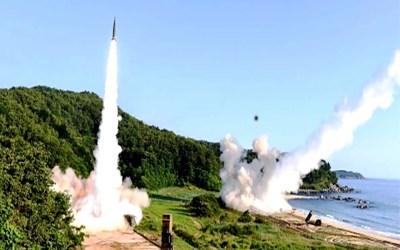 كوريا الشمالية أطلقت صواريخ كروز قصيرة المدى في البحر