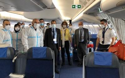 السفارة اللبنانية في باريس استكملت اجراءاتها الوقائية لنقل اللبنانيين الراغبين بالعودة