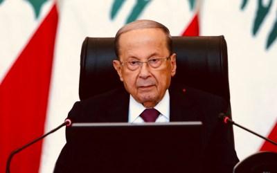 الرئيس عون التقى قائد الجيش وضباطا معنيين للاطلاع على الوضع الراهن ضمن المرفأ