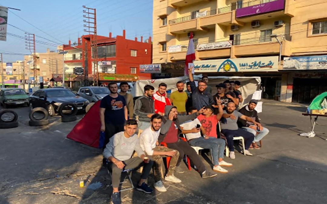 محتجون أقفلوا الدوائر الرسمية في حلبا والجيش يعيد فتح الطريق عند تقاطع ايليا صيدا