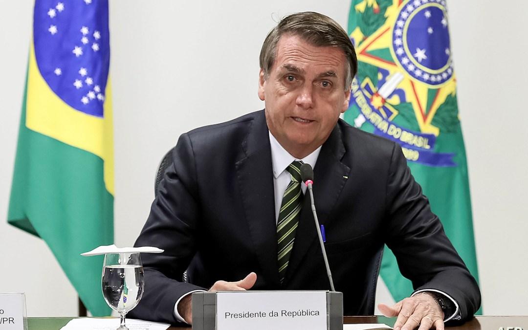 رئيس البرازيل خضع لفحص كورونا بعد ظهور الأعراض عليه