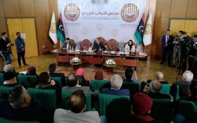 البرلمان الليبي دعا مصر إلى التدخل عسكريا