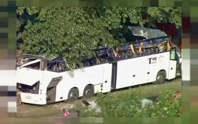 مسلح يحتجز رهائن في حافلة في أوكرانيا