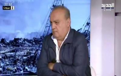 """وهاب لقناة """"الجديد"""": المسؤولية بما حصل في بيروت تقع على عاتق الجمارك بشكل أساسي"""