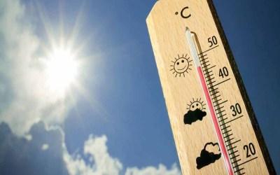 انخفاض بسيط بدرجات الحرارة والرطوبة على الساحل تصل الى 98%
