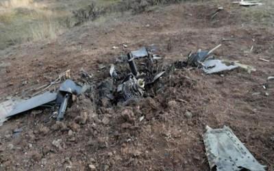 تحطم طائرة مسيرة مجهولة عند حدود إيران مع أذربيجان