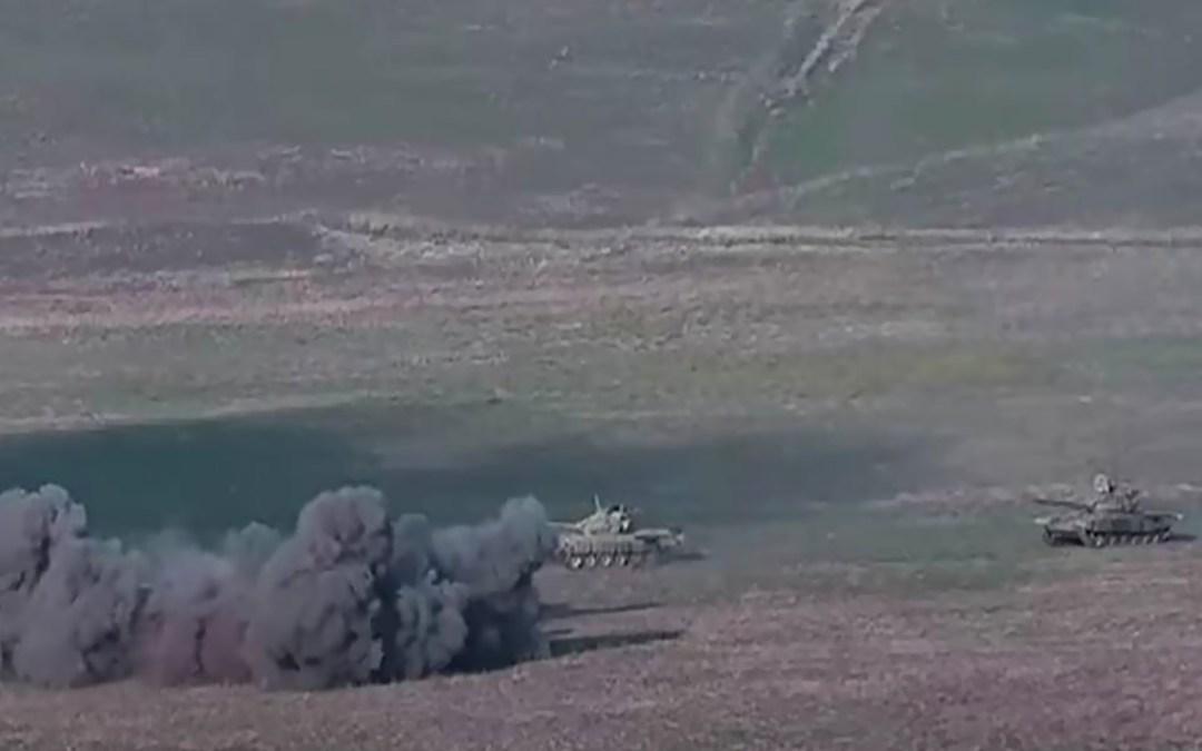 أذربيجان تعلن أنها قصفت موقعين لإطلاق الصواريخ في ارمينيا