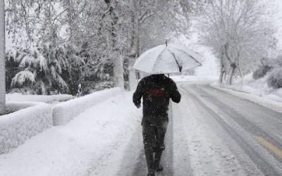 الطقس يتحول الاربعاء إلى عاصف والثلوج ما دون الـ600 متر شمالا