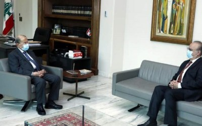 وهاب زار الرئيس عون وعرض معه مسار الحكومة الجديدة