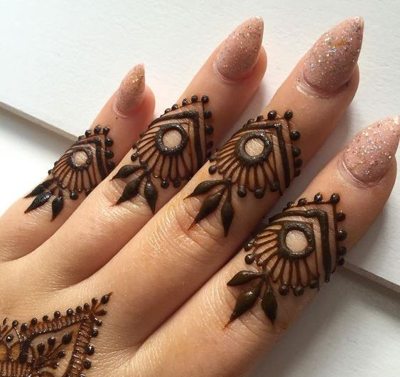 Charming Collection Designer Latest Finger Mehndi Designs 2019 For Parties