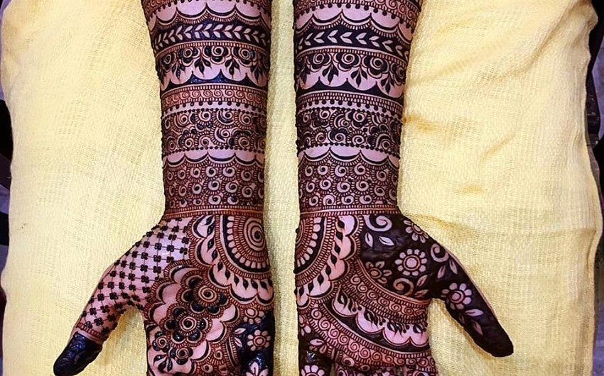 Designer Full Hand New Mehndi Designs 2019 For Bridals