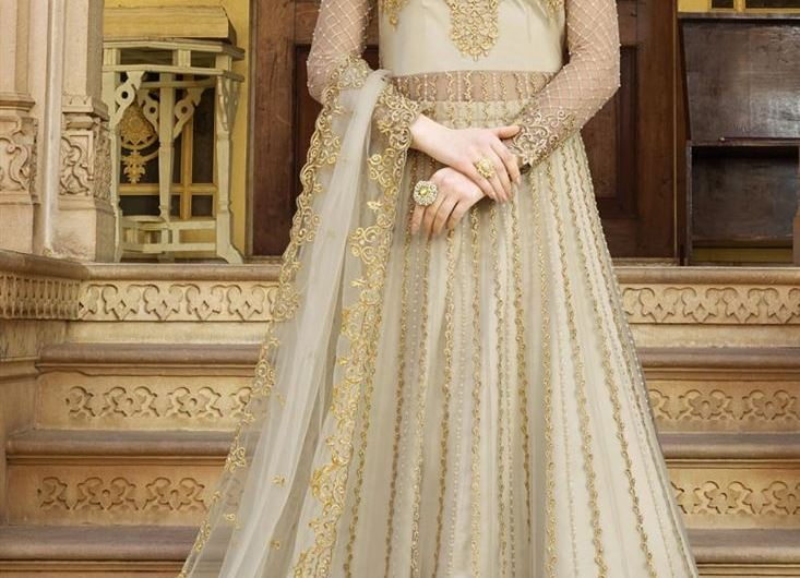 Designer New Bridal Anarkali Frock Designs 2019 Charming Styles