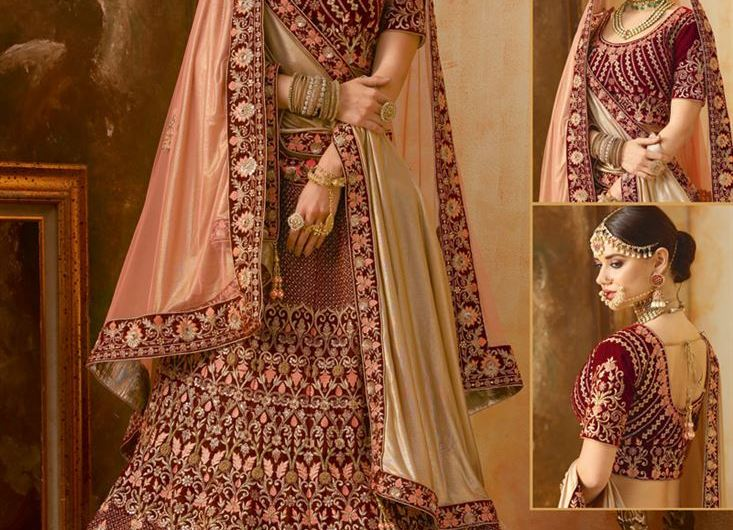 Bridal Blouse Designs 2019 For Lehenga New Collection Images