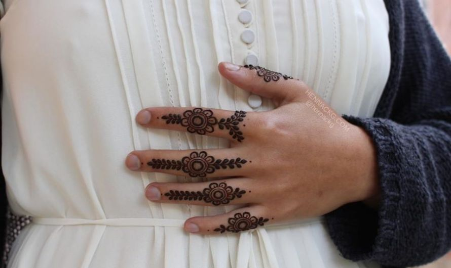 Easy Finger Mehndi Designs 2019 New Style