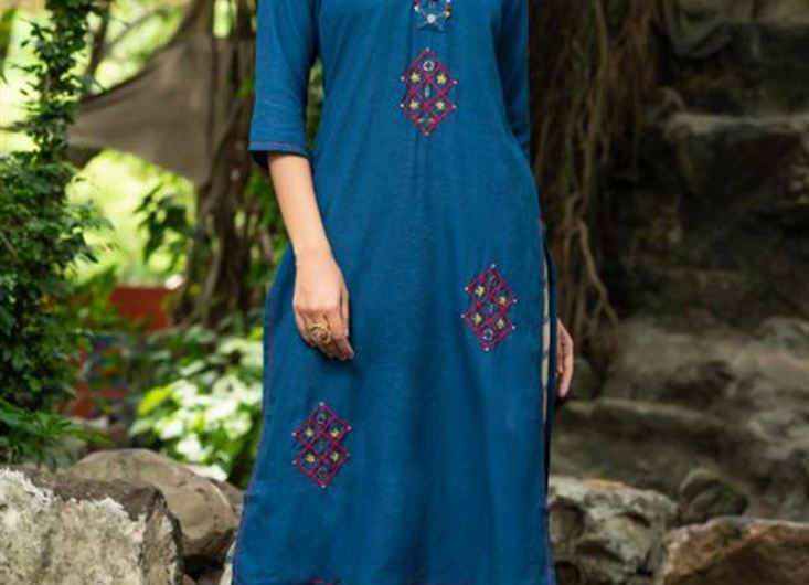 Handloom Cotton Kurti Designs 2019 For Girls