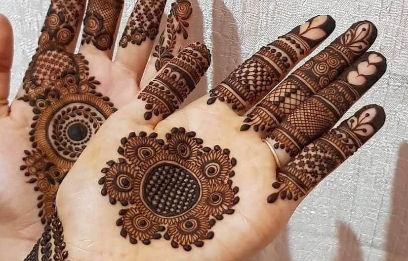 Indian Arabic Latest Bridal Mehndi Designs 2019 For Hands