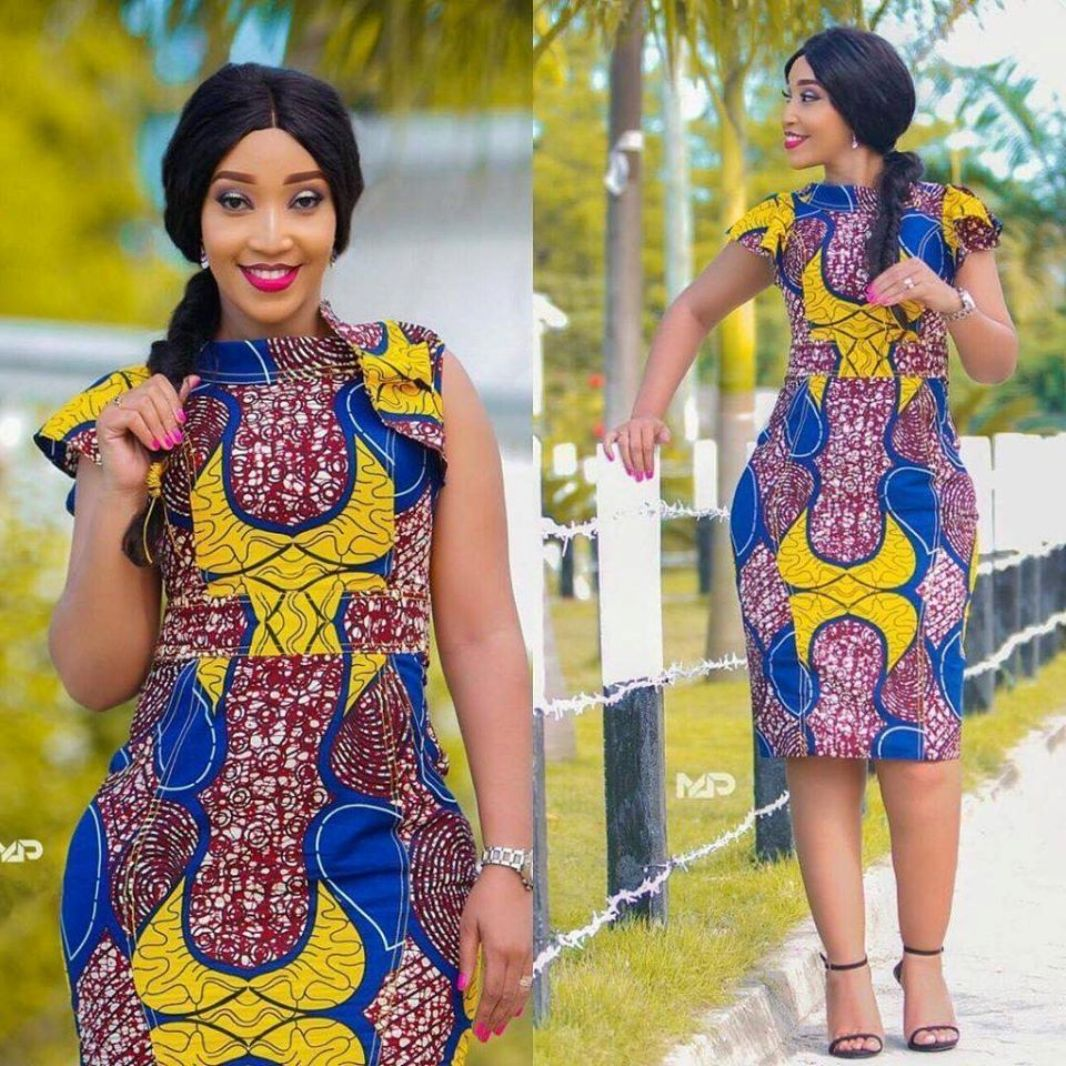 Latest Ankara Short Flare Gown Styles Dresses 2020