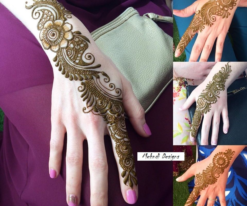 Latest Mehndi Designs 2020 Party Style Pretty Collection For Girls