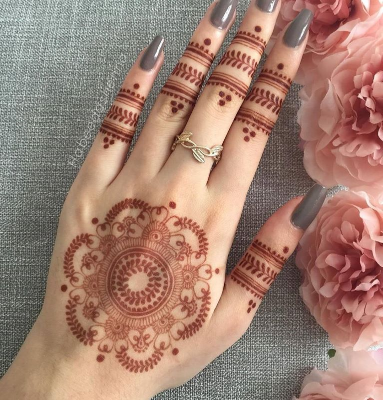 Latest Mehndi Designs 2019 Simple New Style For Hands