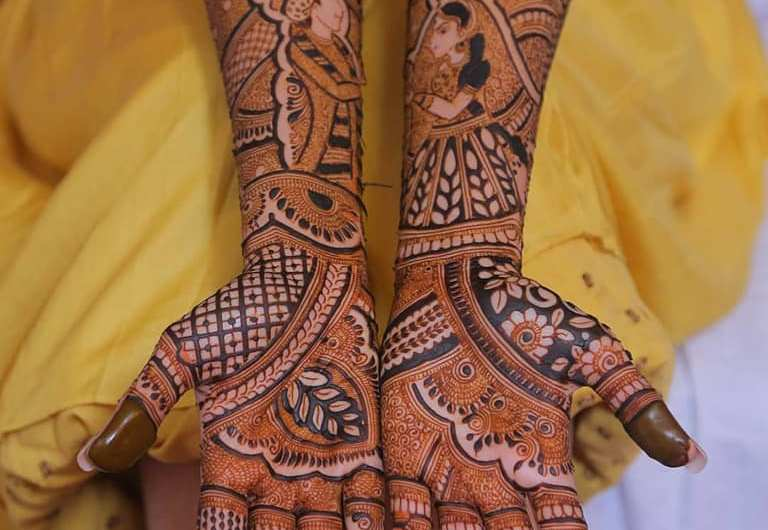 Traditional Bridal Mehndi Designs 2020 New Wedding Collection