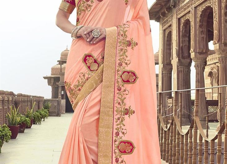 HD Images Of Latest Saree Designs 2020 For Women