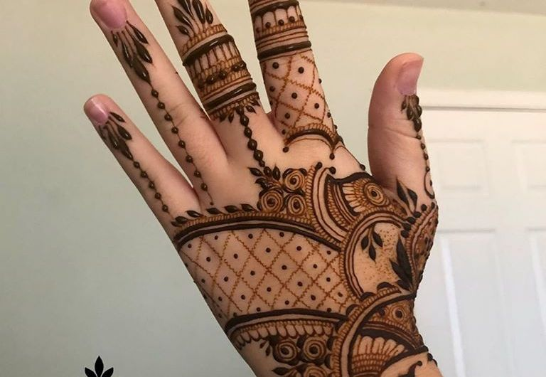 Simple Mehndi Designs For Hands New Mehndi Design 2020