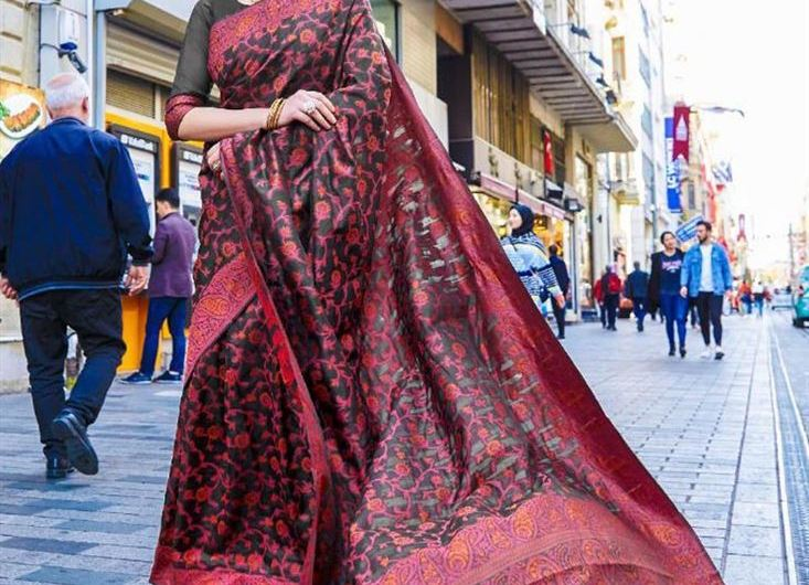 Images Of New Silk Saree Designs 2020 Latest Party Style Indian Collection